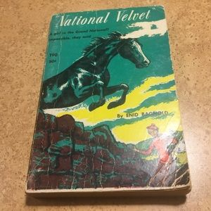 National Velvet vintage paperback book 1965 T90